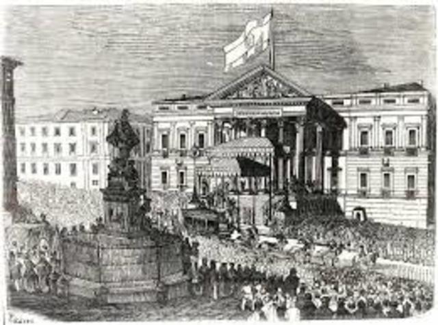 El Bienio Progresista  (1854-1856)