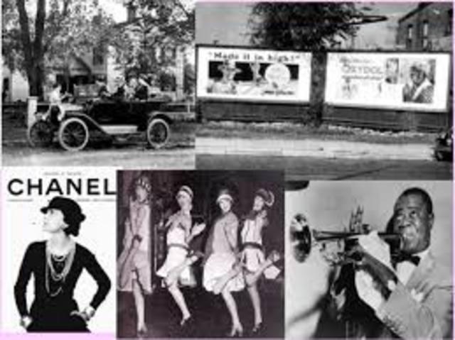 Los felices años veinte en Estados Unidos.   (1922-1929)