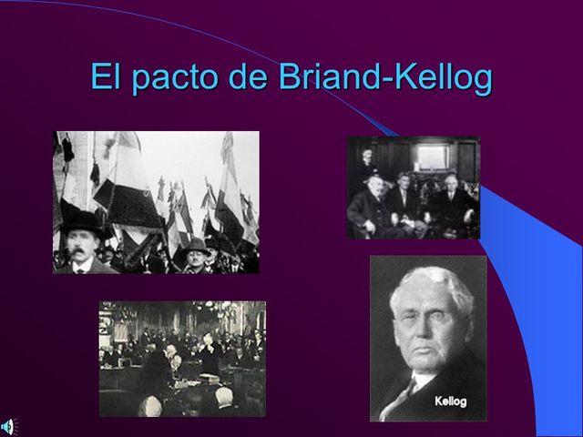Pacto Briand Kellog