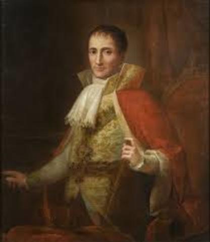 Jose I Bonaparte       (7 enero-1768  -   28  julio 1844)