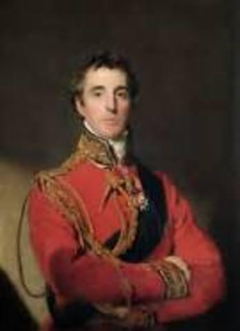 Duque de Wellington        (1 mayo 1769  -  14 septiembre-1852)