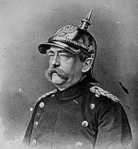 Otto con Bismarck(1 April 1815 - 30 July 1898)