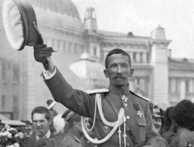 Intento de golpe de estado por el general Kornilov