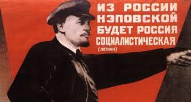 Nueva política económica de la URSS