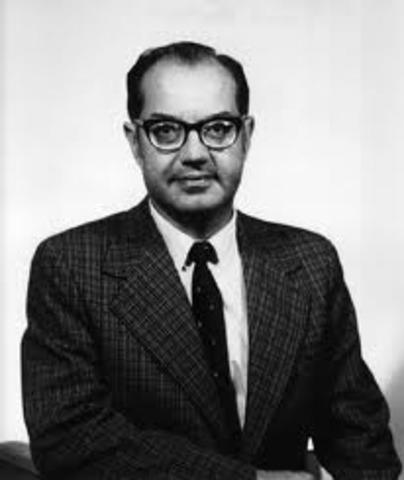 Paul Baran desenvolve a primeira rede de computadores