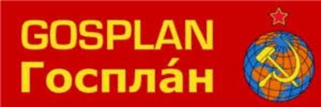La planificación de la economía en la URSS de Stalin.