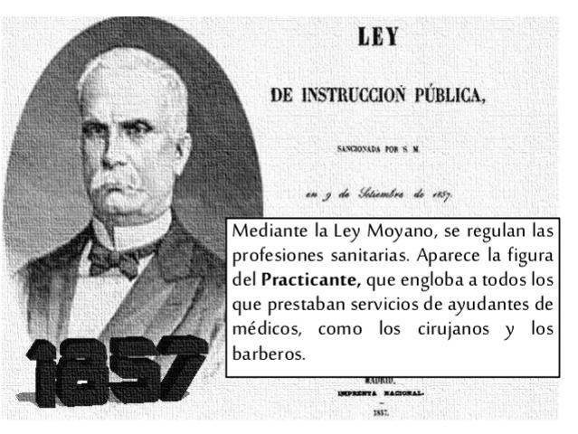 Ley Moyano.