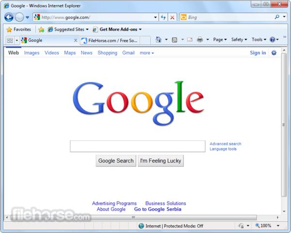 Nace Internet Explorer