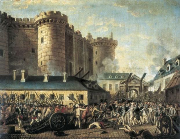 Toma de la Bastilla