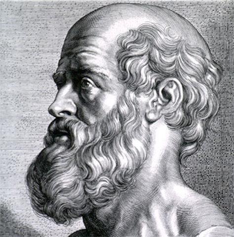 Hipocrates 470 a.C.