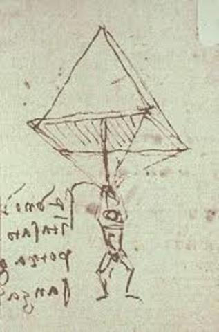 The parachute was invented