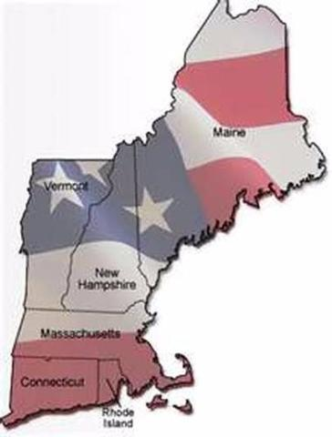 Creation Of The Domain Of New England