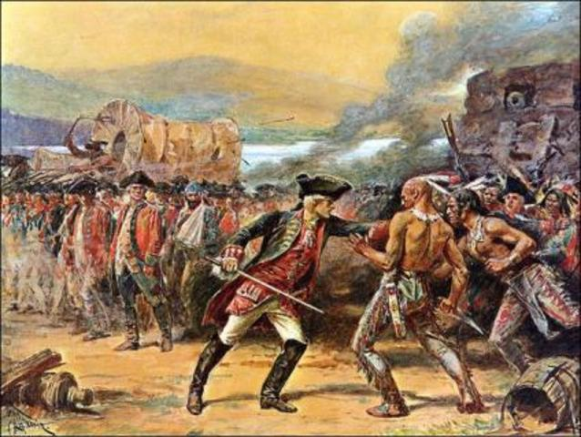 The Start of the French and Indian War at Fort Necessity