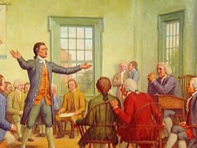 First Continental Congress: