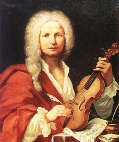 Antionio Vivaldi, Italian composer, born