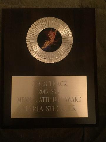 Track: Mental Attitude Award