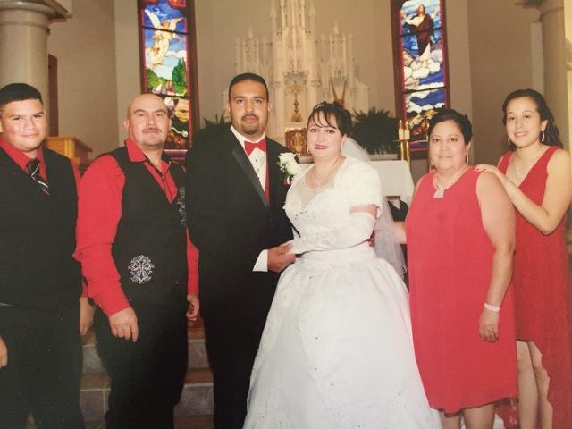 Aunt Leja gets married