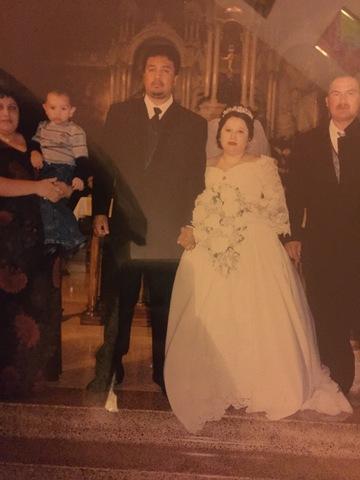 Aunt Juana gets married