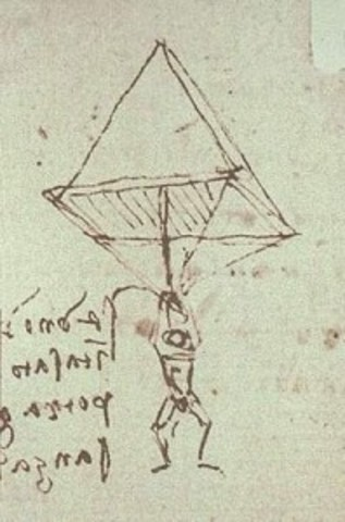 first parachute is designed