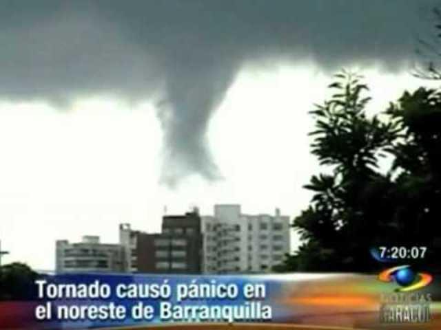 Barranquilla: Tornado deja 19 heridos