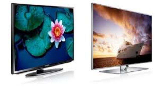 Las pantallas LCD y LED