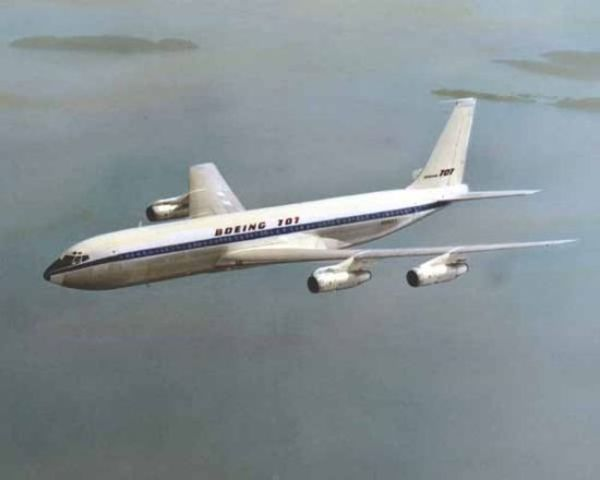 First Passenger International Flight