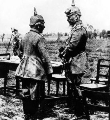 Alemania declara la guerra a Rusia