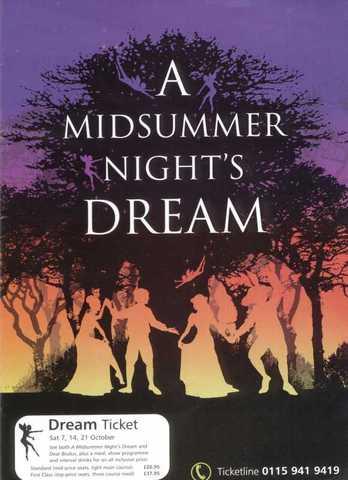 Midsummer Nights Dream Play