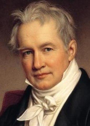 Nacimiento de Friedrich Wilhelm Heinrich Alexander Freiherr von Humboldt.