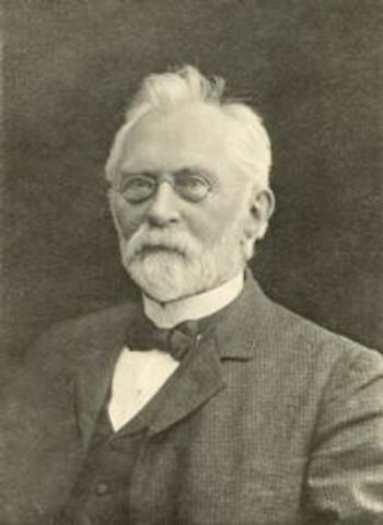Nacimiento de Johannes Eugenius Bülow Warming.