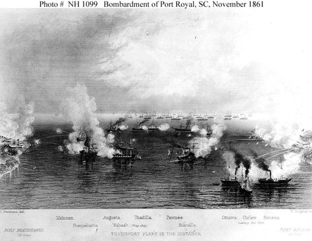 Sea-to-Land Military Action