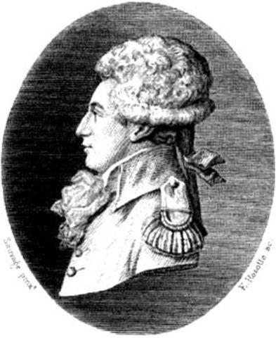 Nacimiento del hijo de Georges-Louis Leclerc de Buffon.