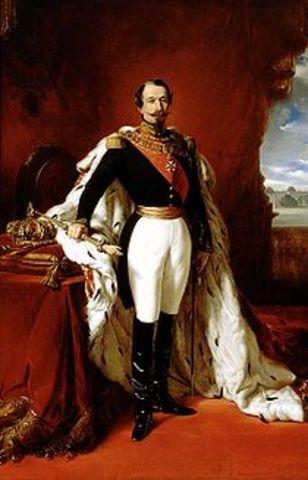 Louis Napoleon Bonaparte establishes Second Empire in France