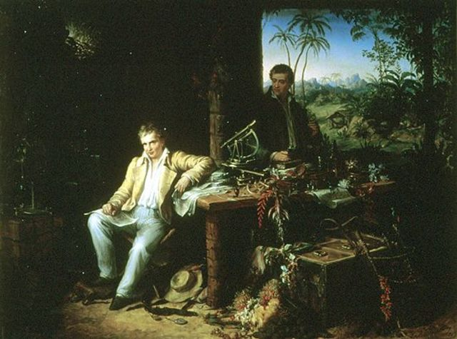 Alexander Von Humboldt viaja realiza un viaje de exploración.