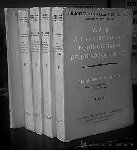 """Alexander Von Humboldt comienza con su obra """"Viaje a las regiones equinocciales del Nuevo Continente""""."""