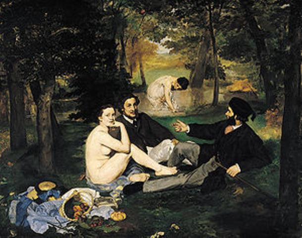 Edouard Manet: Le Dejeuner sur L'herbe (The Lunceon on the Grass)