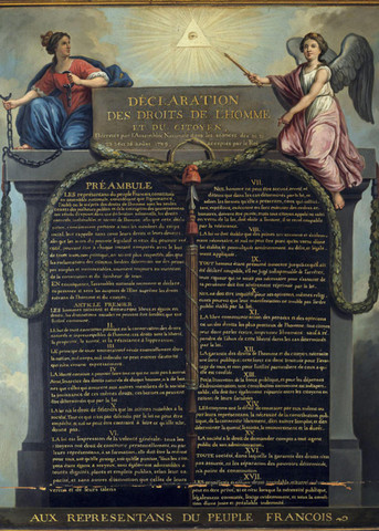 Menneskerettighetserklæringen blir vedtatt