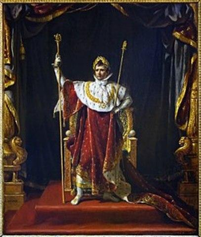 Napoleon Bonaparte tar makta i Frankrike