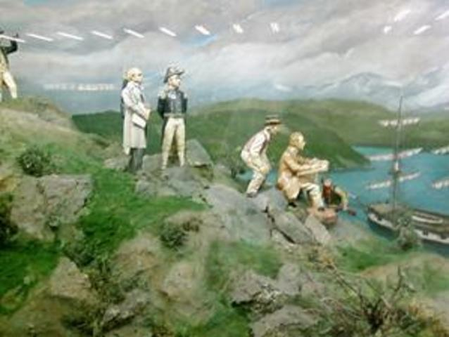 Recolecciones de Charles Darwin en Chile.
