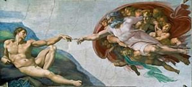 The Creation of Adam is Completed (Renaissance Art/Artists)