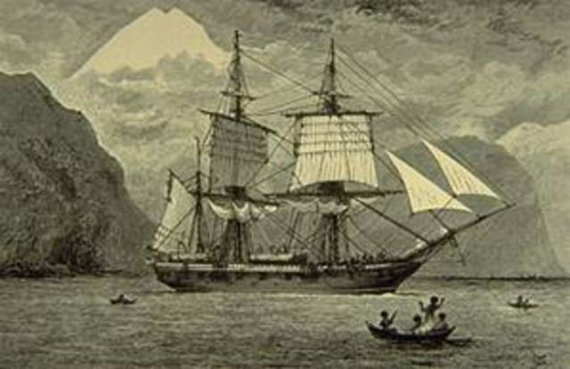 Charles Darwin regresa a Inglaterra.