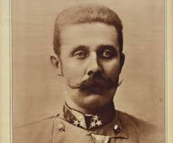 Asesinato del archiduque Francisco Fernando, heredero al trono del imperio austro - hungaro