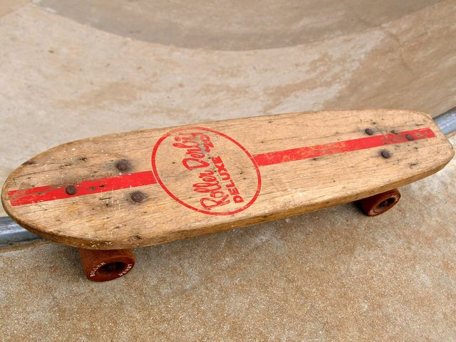 First known skateboard was invented