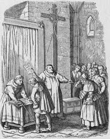 Getting the Money to Rebuild St. Peter's Basilica. (he Catholic Church (Pre-Reformation))