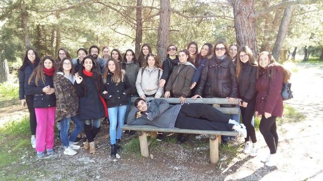 Επίσκεψη της Ομάδας Περιβαλλοντικής Εκπαίδευσης με θέμα το δάσος στο Αισθητικό Δάσος Υμηττού