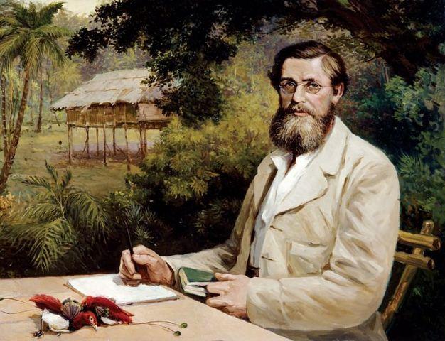"""Alfred Russel Wallace publica su obra """"El lugar del hombre en el Universo"""""""