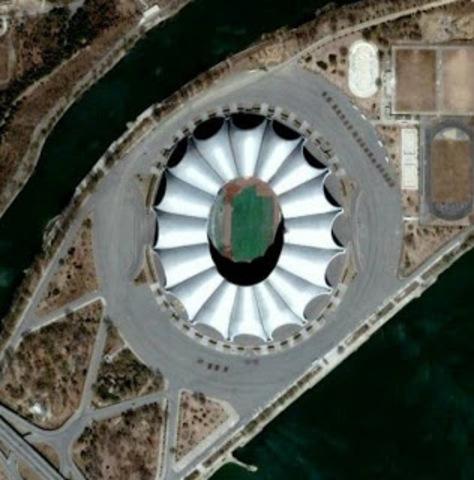El Rungrado May Day, el estadio de fútbol más grande del mundo.