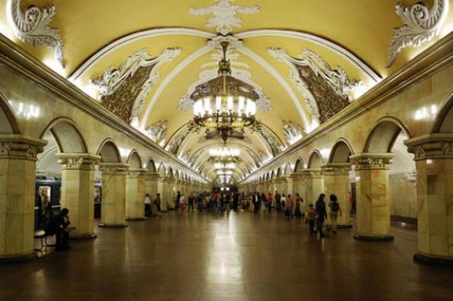 Metro de Moscú, Rusia, CEI.