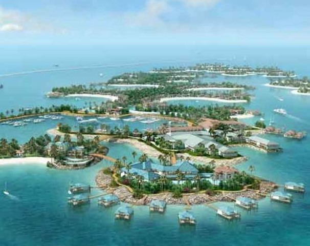ISLAS ARTIFICIALES  THE WORLD Y PALM (DUBAI, EMIRATOS ÁRABES)