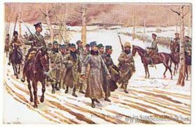 Empiezan la movilización de guerra